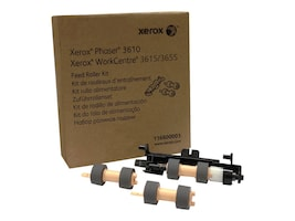 Xerox Paper Feed Roller Kit for Phaser 3610 & WorkCentre 3615, 116R00003, 17233732, Printer Accessories