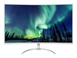 Philips 40 BDM4037UW 4K Ultra HD LED-LCD Curved Display, Silver, BDM4037UW, 33685819, Monitors - Large Format