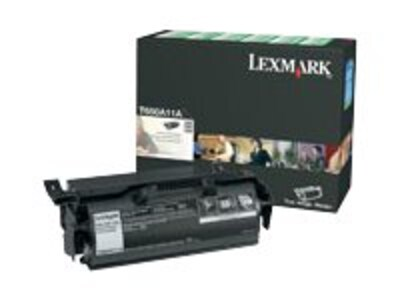 Lexmark Black Return Program Toner Cartridge for T650, T652 & T654 Series Printers, T650A11A, 9163789, Toner and Imaging Components - OEM