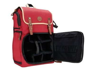 Accessory Genie GoGroove DSLR Camera Backpack, Red, GGBCCBK100RDEW, 36561361, Carrying Cases - Camera/Camcorder