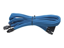Corsair Individually Sleeved 24-pin ATX Cable, Blue, CP-8920054, 16431454, Cables