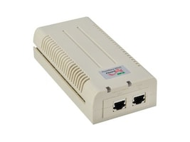 Microsemi Green PoE 1 Port Gig Midspan, PD-5501G/12-24VDC, 16343825, Network Adapters & NICs