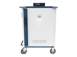 Jar 30-Unit Ultra-Light Intelligent Cart, 11.5H x 1.3W x 15D, MD-5143-SMART, 35225744, Computer Carts