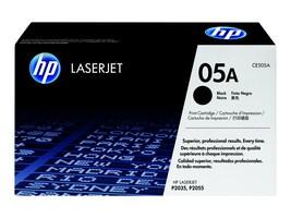HP 05A (CE505A) Black Original LaserJet Toner Cartridge, CE505A, 8929025, Toner and Imaging Components - OEM