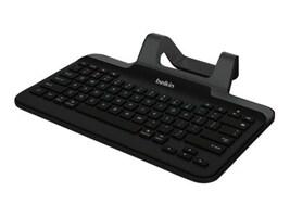 Belkin Wired Tablet Keyboard w  Stand, Lightning Connector for iPad, Black, B2B130, 17611297, Keyboards & Keypads