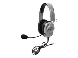 Califone Titanium Series Headset w  To Go Plug, HPK-1010T, 35104740, Headsets (w/ microphone)