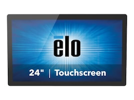 ELO Touch Solutions 24 2440L Full HD LED-LCD iTouch Monitor, Black, E000414, 17776382, Monitors - Touchscreen