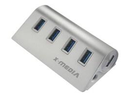 Premiertek 4-Port USB 3.0 Hub SuperSpeed, 2A AC Adapter, XM-UB3004A, 32919265, USB & Firewire Hubs