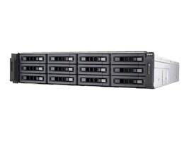 Qnap 12-Bay 10GBbE iSCSI 2U SATA 6Gb s NAS, TS-EC1280U-E3-4GE-R2-US, 32581196, Network Attached Storage