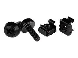 StarTech.com Screws M5 x 12mm w  Cage Nuts, Black (50-pack), CABSCREWM5B, 30968207, Tools & Hardware