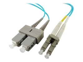 Axiom LC-SC 50 125 OM4 Multimode Duplex Cable, 2m, LCSCOM4MD2M-AX, 17576006, Cables