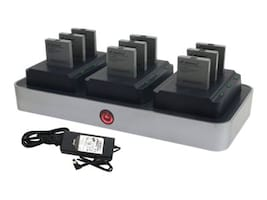 Zcover Zdock Dual Charger for Cisco 7926G 7925G 7925G-EX (9) Batteries (4) LED, CI92AU3B, 31772871, Battery Chargers