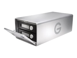 G-Technology 12TB GRAID Thunderbolt 3 USB-C Storage, 0G05753, 34019498, Direct Attached Storage