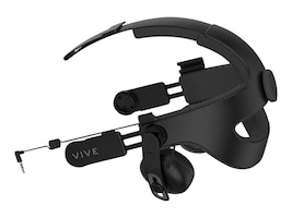 HTC Vive Deluxe Audio Strap Retail, 99HAMR001-00, 34856499, Video Gaming Accessories