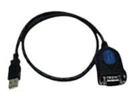Hawking USB to RS232 Serial Converter Cable, Black, HUC232S, 4787381, Cables