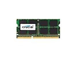 Crucial 4GB PC3L-12800 204-pin DDR3L SDRAM SODIMM, CT4G3S160BJM, 32200470, Memory
