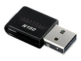 TRENDnet 150Mbps Mini Wireless N USB Adapter, TEW-648UB, 10414979, Wireless Adapters & NICs