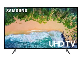 Samsung 42.5 NU7100 4K UHD LED-LCD Smart TV, Black, UN43NU7100FXZA, 35593547, Televisions - Consumer
