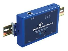 B&B Electronics Quad Port Serial Server, 4 RS-232 422 485 ports, ESP904, 17420191, Network Routers