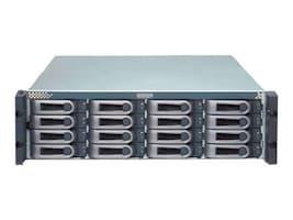 Promise 3U 16-Bay 3G FC SAS SATA RAID Storage Array w  (8) 2TB SAS Hard Drives, E610FDBB2CC, 12001764, SAN Servers & Arrays