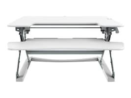 Loctek 36 Sit-Stand Desktop Riser, White, LXR36W, 35711101, Furniture - Miscellaneous