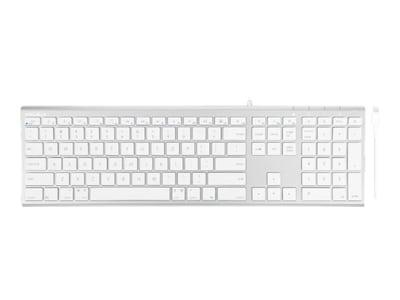 Macally WIRED USB-C KEYBOARD FOR MAC   ACCSALUMINUM SLIM TYPE C KEYBOARD, UCACEKEYA, 38379626, Keyboards & Keypads
