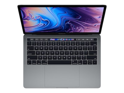 Apple MacBook Pro 13 TouchBar w ID 2.3GHz Core i5 8GB 256GB SSD Iris Plus 655 Space Gray, MR9Q2LL/A, 35875721, Notebooks - MacBook Pro 13