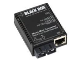 Black Box 10 100 1000 1000 0.5K SC Transceiver, LMC4002A, 33001739, Network Transceivers