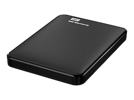 WD 1TB WD Elements USB 3.0 Portable Hard Drive, WDBUZG0010BBK-WESN, 33795330, Hard Drives - External