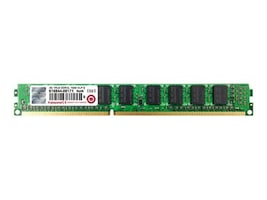 Transcend 4GB PC3-12800 240-pin DDR3 SDRAM DIMM, TS512MLK72W6HL, 34094543, Memory