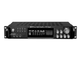 Pyle 1000W Hybrid Amplifier AM FM Tuner w  70V Output, PT720A, 14834348, Music Hardware