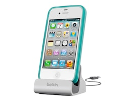Belkin Charge and Sync Dock for iPhone 5, F8J045BT, 15548036, Cellular/PCS Accessories - iPhone
