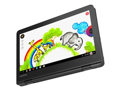 Lenovo 300e Chromebook MT 8173C 2.1GHz 4GB 32GB eMMC ac BT WC 11.6 HD MT Chrome OS, 81H00000US, 35045858, Notebooks
