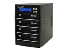 Vinpower ECON Blu-ray DVD CD 1:4 Tower Duplicator w  Hard Drive, ECON-S4T-BD-BK, 15128146, Disc Duplicators