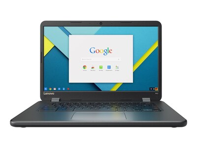 Lenovo TopSeller N42 Chromebook Celeron N3060 1.6GHz 4GB 16GB ac BT WC 14 HD Chrome, 80US0000US, 35917599, Notebooks