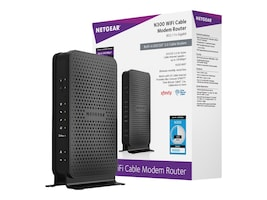 NETGEAR C3000-100NAS Main Image from Right-angle