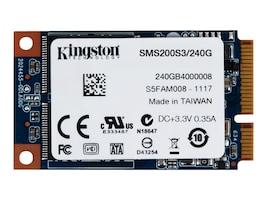 Kingston 240GB SSDNow mS200 mSATA 6Gb s Internal Solid State Drive, SMS200S3/240G, 17232211, Solid State Drives - Internal
