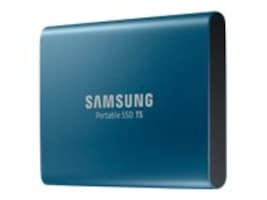 Samsung 500GB T5 USB 3.1 Portable Solid State Drive, MU-PA500B/AM, 34495734, Solid State Drives - External
