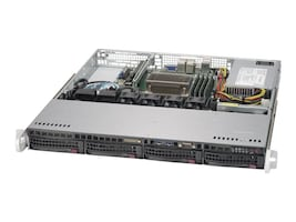 Supermicro SYS-5019S-M Main Image from Right-angle