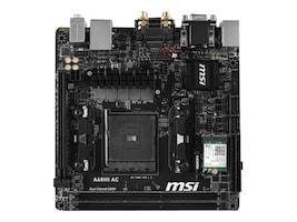 Microstar Motherboard, A68H FM2+ A- Athlon Series Max.32GB DDR3 4xSATA 4xPCIe GbE, A68HI AC, 24989503, Motherboards