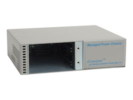 Omnitron IConverter 2-unit AC Manageable Chassis, 8230-0, 361500, Network Transceivers