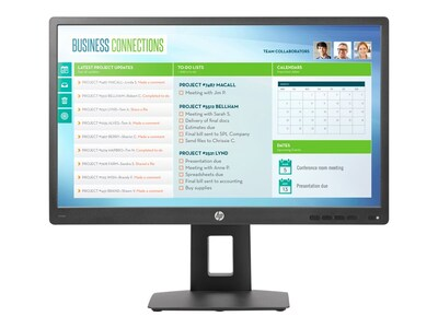 HP Value Display 23.8 VH24 Full HD LED-LCD Monitor, TAA, Black, M1T03A6#ABA, 33416512, Monitors