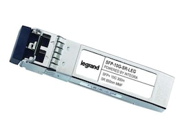C2G 10GBase-SR SFP+ 850nm 300m LC MM Transceiver (Cisco SFP-10G-SR), SFP-10G-SR-LEG, 34389966, Network Transceivers