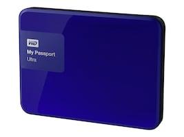 WD 1TB My Passport Ultra Portable Hard Drive - Blue, WDBGPU0010BBL-NESN, 21089139, Hard Drives - External