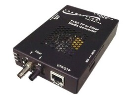 Transition Remote Managed T1 Converter RJ-48 to 1310NM SM SC 20KM, SSDTF1014-120-NA, 11447406, Network Transceivers