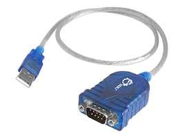 Siig USB to Serial RS-232 9pin Cable, 25in, JU-CS0111-S1, 13048695, Cables