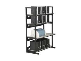 Kendall Howard Performance Plus 36 4-Post LAN Station, 7100-1-100-36, 11413441, Computer Carts