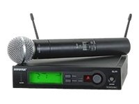 Shure SLX24/SM58-J3 Main Image from
