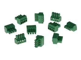 Axis Connector A 4-pin 3.81 Straight, 10-Pack, 5505-251, 33908390, Cable Accessories