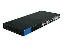 Linksys 28 Port Managed Gig Poe+ Switch, LGS528P, 17549981, Network Switches